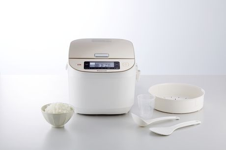 Panasonic SR-AFM187 10-Cup (Uncooked) Induction Heating System Rice Cooker & Multi-Cooker, White/Champagne Gold - image 7 of 9
