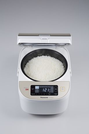 Panasonic SR-AFM187 10-Cup (Uncooked) Induction Heating System Rice Cooker & Multi-Cooker, White/Champagne Gold - image 5 of 9