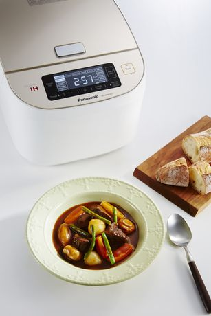 Panasonic SR-AFM187 10-Cup (Uncooked) Induction Heating System Rice Cooker & Multi-Cooker, White/Champagne Gold - image 8 of 9