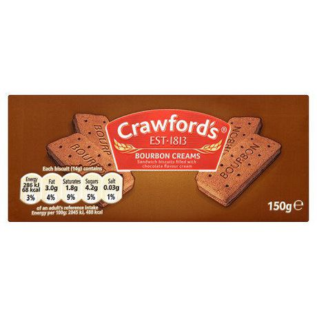 Crawford's Bourbon Cream Biscuits - image 1 of 1