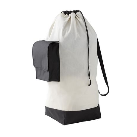 MAINSTAYS Canvas Laundry Bag - image 1 of 1