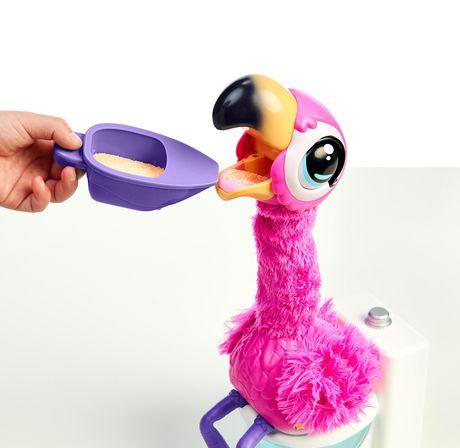 26222 Chante et Fait Caca Little Live Pets Gotta Go Flamingo-/Le Nouveau Jouet Flamant Rose interactif Qui Danse