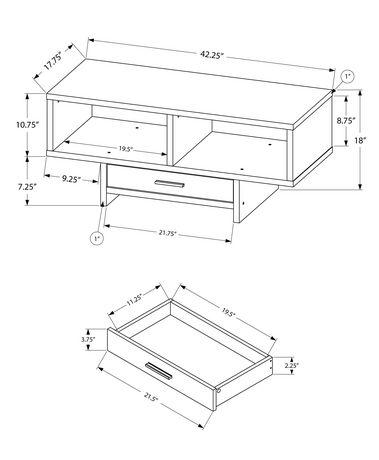 Monarch Specialties - Coffee Table - image 5 of 5