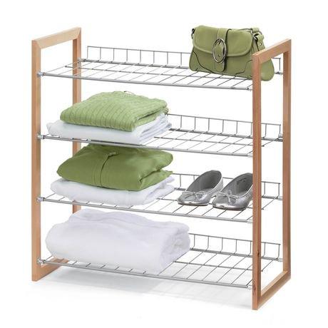 4 Tier Storage Shelf