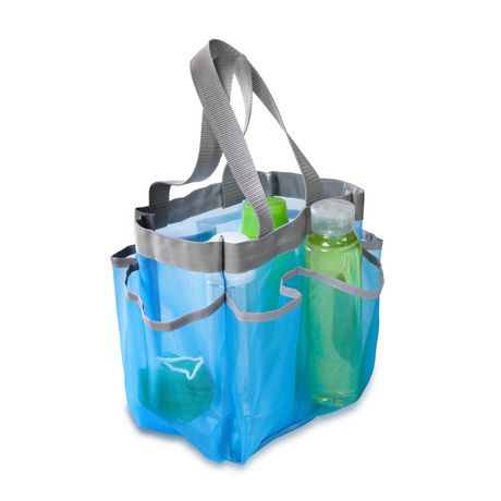 Mesh Shower Tote blue shower tote | walmart canada