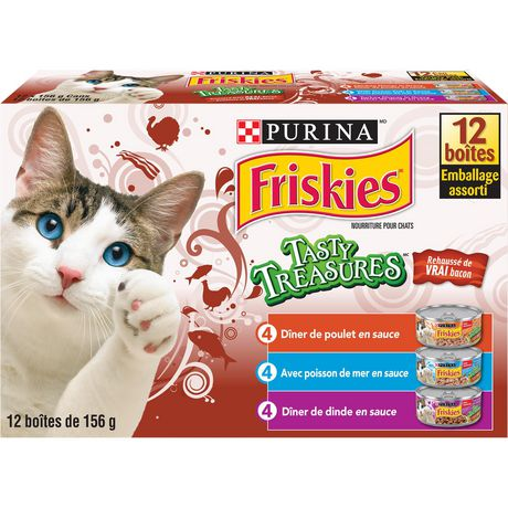 Friskies Tasty Treasures Accented with Real Bacon Cat Food Variety Pack - image 2 of 5