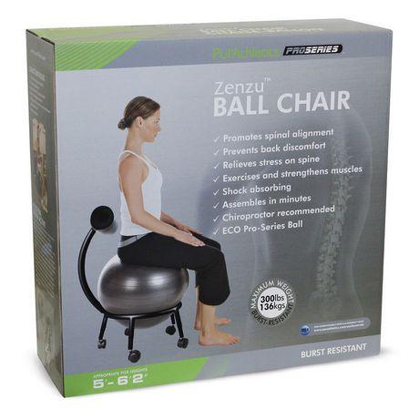 Zenzation PurAthletics Pro Series Ball Chair - image 1 of 1
