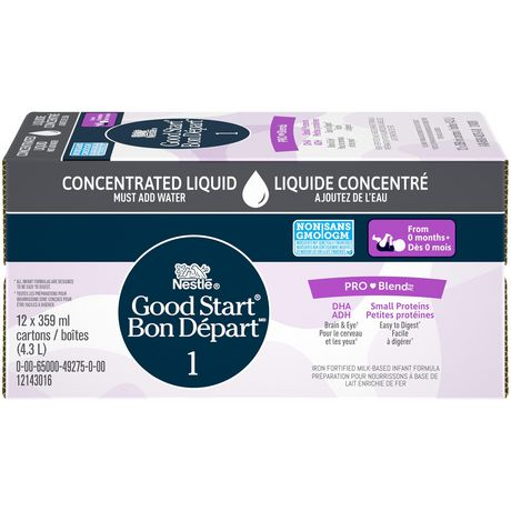 NESTLÉ GOOD START with PRO-BLEND Stage 1 Baby Formula, Concentrate - image 3 of 7