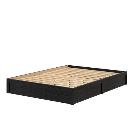Full Platform Bed Frame Espresso Walmart Canada