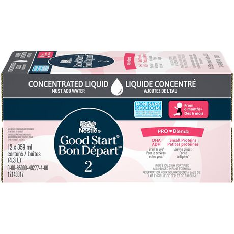 NESTLÉ Good START with PRO-BLEND Stage 2 Baby Formula, Concentrate - image 3 of 8