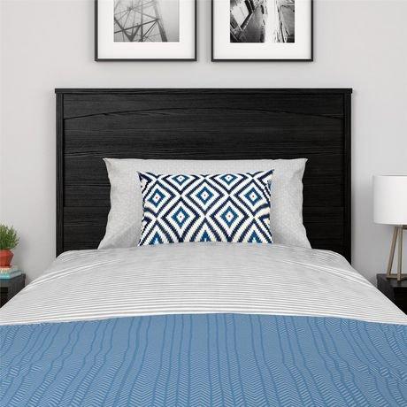 t te de lit jumeau crescent point blanc vintage walmart canada. Black Bedroom Furniture Sets. Home Design Ideas