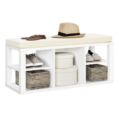Ameriwood Parsons Storage Bench, White - image 2 of 9
