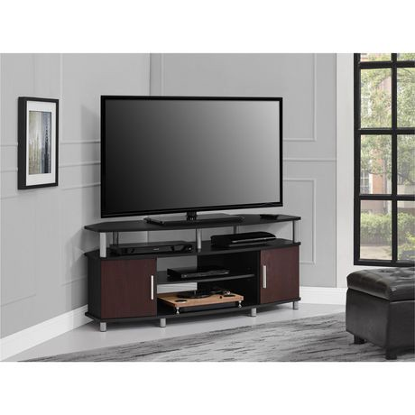 Carson Corner Tv Stand For Tvs Up To 50 Quot Black Cherry