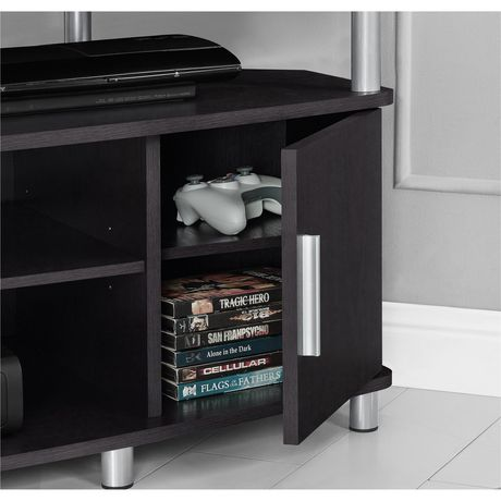 "Carson Corner TV Stand for TVs up to 50"", Black/Cherry - image 7 of 7"
