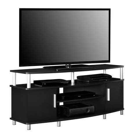 """Carson TV Stand for TVs up to 50"""" Weathered Oak"""