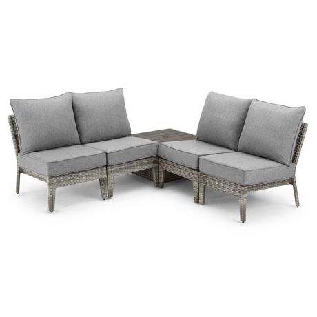 Hometrends Charlottetown 5 Piece Stacking Sectional Set - image 3 of 9