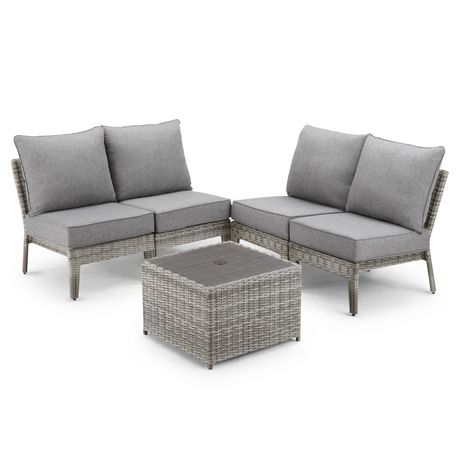 Hometrends Charlottetown 5 Piece Stacking Sectional Set - image 4 of 9