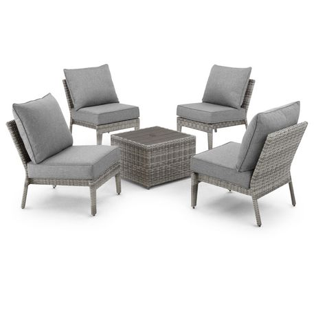 Hometrends Charlottetown 5 Piece Stacking Sectional Set - image 6 of 9