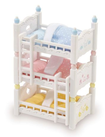 Calico Critters Triple Baby Bunk Beds - image 1 of 3