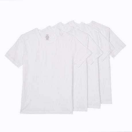 George Men's T-Shirts, 4-Pack - image 2 of 2
