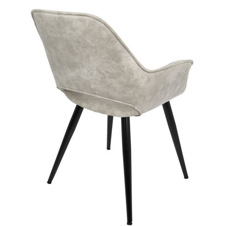 Chaise d 39 accent contemporaine mustang de lumisource for Chaise salon contemporaine