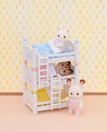 Calico Critters Triple Baby Bunk Beds - image 3 of 3