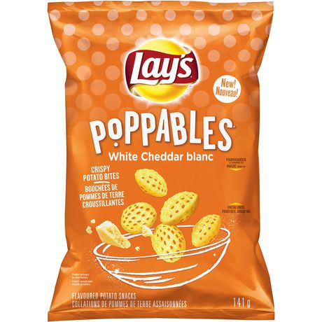 Lay's Poppables Croustilles Cheddar Blanc - image 1 de 5