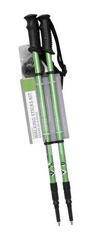 Zenzation PurAthletics Walking Sticks Kit, Green - image 1 of 1
