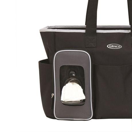 Graco Smart Organizer System Tote Diaper Bag - image 3 of 6
