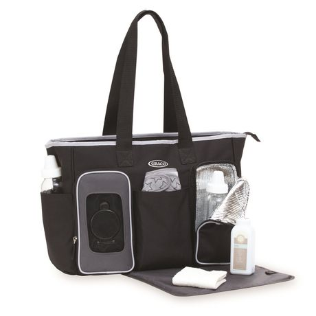 Graco Smart Organizer System Tote Diaper Bag - image 4 of 6