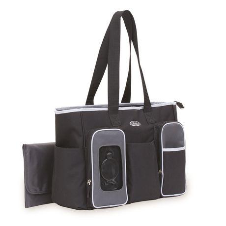 Graco Smart Organizer System Tote Diaper Bag - image 5 of 6
