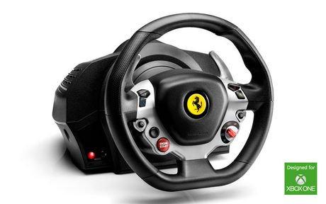 thrustmaster volant tx racing wheel ferrari 458 italia dition xbox one. Black Bedroom Furniture Sets. Home Design Ideas