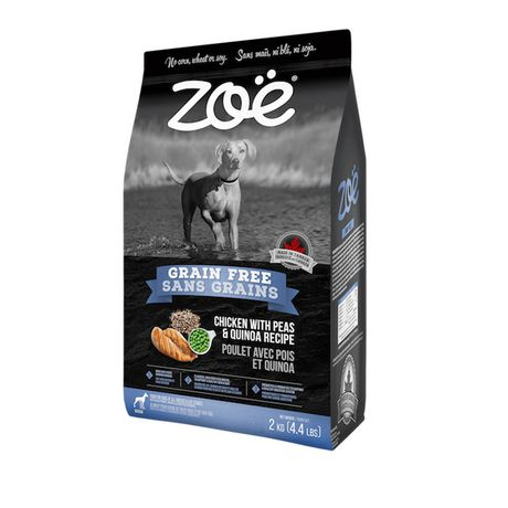Zoe Zoë Grain Free Chicken with Peas And Quinoa Dry Dog Food - image 1 of 2