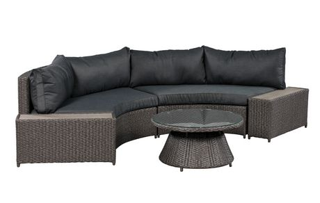 Patioflare Vale Curved Sofa Set Walmart Canada