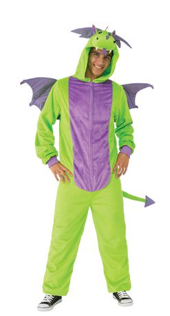 Green Dragon Adult Costume - image 2 of 3