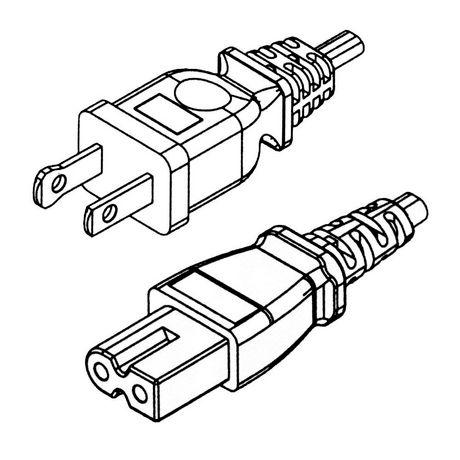 Powercord NA polarisé - 6ft - image 1 de 1