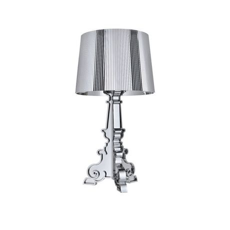Plata Décor Import Inc Prisma Large Lamp in Silver - image 1 of 1