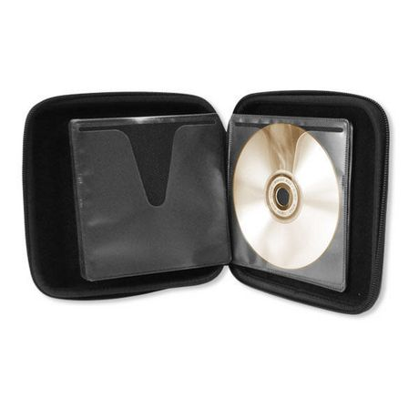24 Cap EVA CD/DVD Wallet - Black - image 1 of 1
