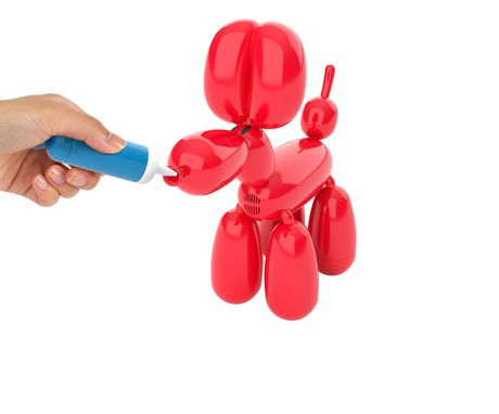 Squeakee The Balloon Dog - image 4 of 8