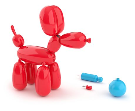 Squeakee The Balloon Dog - image 3 of 8