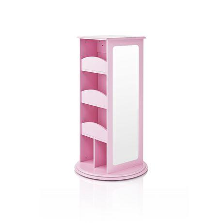 Guidecraft Pink Rotating Dress Up Storage Unit Walmart