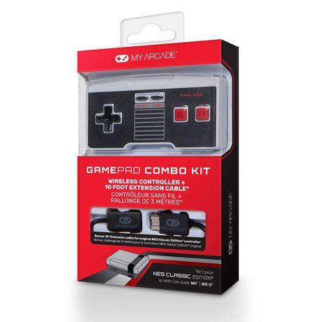 Combiné Gamepad My Arcade de dreamGear édition classique de l'arcade NES - image 2 de 2