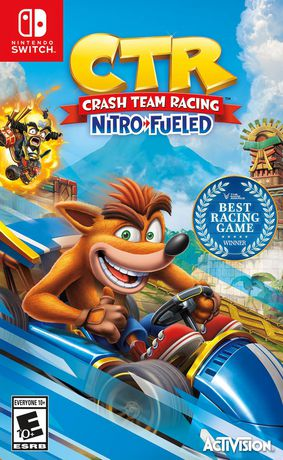 Activision Crash Team Racing Nitro Fueled (Nintendo Switch) - image 1 of 4