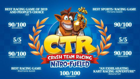 Activision Crash Team Racing Nitro Fueled (Nintendo Switch) - image 2 of 4