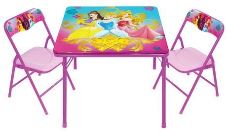 Disney Princess Activity Table And Chairs Set Walmart Canada