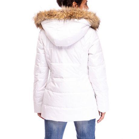 Veste Manteau Murmure de L'hiver de Joan Kelley Walker pour femmes à faux-duvet et doux au toucher - image 2 de 9