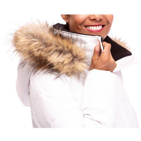 Veste Manteau Murmure de L'hiver de Joan Kelley Walker pour femmes à faux-duvet et doux au toucher - image 4 de 9
