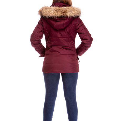Veste Manteau Murmure de L'hiver de Joan Kelley Walker pour femmes à faux-duvet et doux au toucher - image 6 de 9