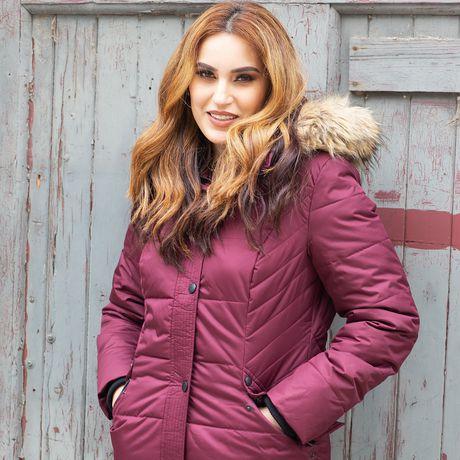 Veste Manteau Murmure de L'hiver de Joan Kelley Walker pour femmes à faux-duvet et doux au toucher - image 9 de 9