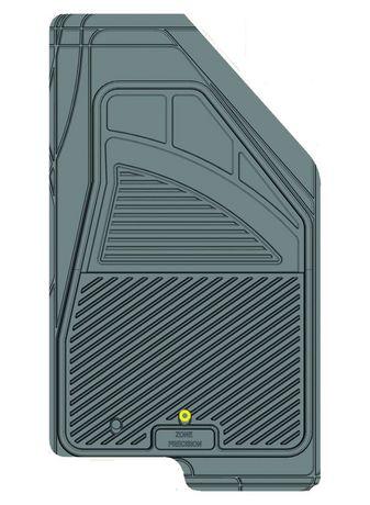 Ensemble de 4 tapis Kustom Fit pour Jeep (Gris) - image 6 de 9